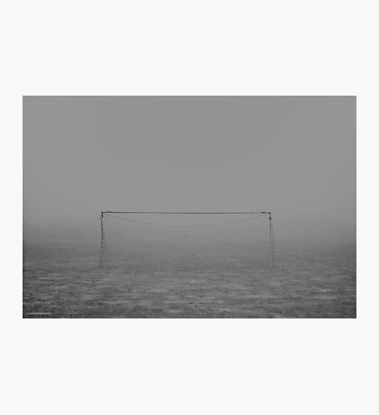 Fog football landscape Photographic Print
