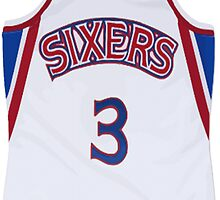 Allen Iverson Jersey by ColbyCo