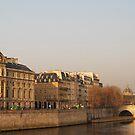 Paris Morning II by Louise Fahy