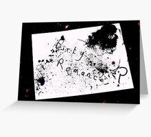 Dirty Romance Greeting Card