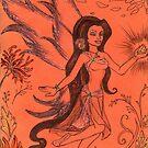 Winged Orange Blossom by Kashmere1646