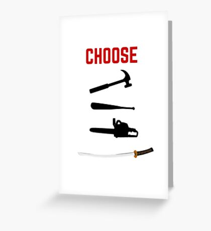 Pulp Fiction - Butch Greeting Card