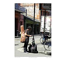 """Musical Aspirations""/ French Quarter Street Preformers  Photographic Print"