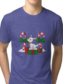 Red-nosed reindeer Tri-blend T-Shirt