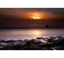 Saltwick Bay in the morning Photographic Print