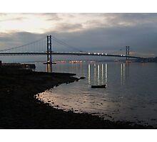 Reflected Light:  The Road Bridge. Photographic Print