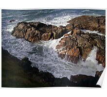 The Forces of Nature - Hebridean Seascape Poster