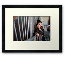 L 4.0 Framed Print