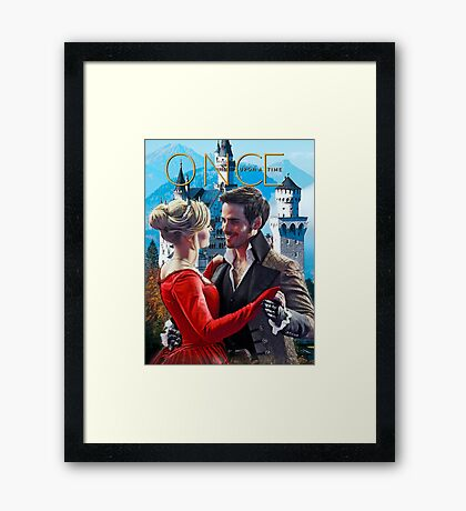 Captain Swan Fairy Tale Comic Poster 1 Framed Print
