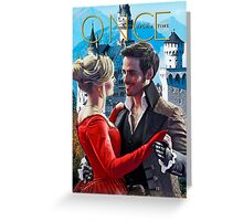 Captain Swan Fairy Tale Comic Poster 1 Greeting Card
