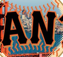 San Francisco Giants Bridge+Skyline Logo Sticker