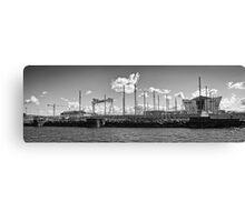Titanic Series No11. Her Slipway Canvas Print