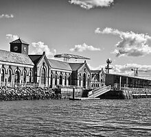 Titanic Series No14. The Drydocks by Chris Cardwell