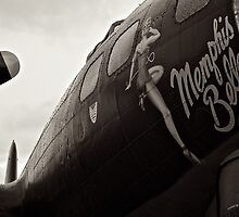 Memphis Belle WW2 Bomber by Lynchie