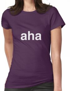 aha moment Womens Fitted T-Shirt