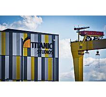 Titanic Series No12. Titanic Studio Photographic Print