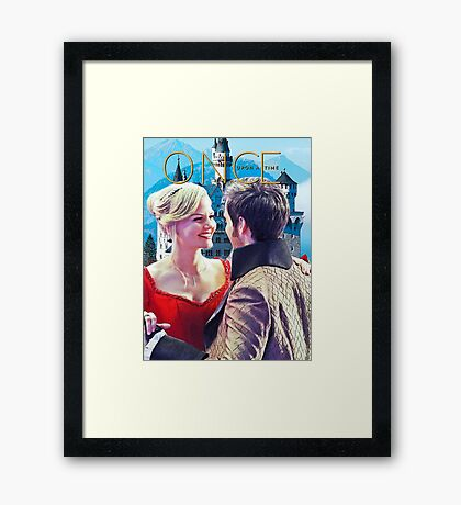 Captain Swan Fairy Tale Comic Poster 2 Framed Print