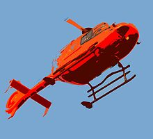 helicopter pop-art by ARTistCyberello