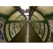 London, Old Tube Station  Photographic Print