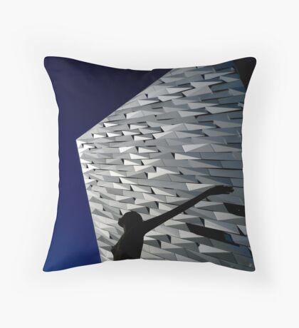 Titanic Maiden Voyage ~ Damsel in Distress  Throw Pillow