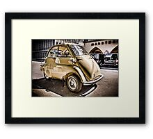 BMW - Isetta Framed Print