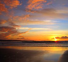 Sunset by the Sea - Ireland by Honor Kyne