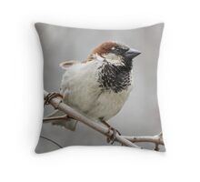 Wide Stance Throw Pillow