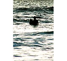 Surf Silhouette Photographic Print