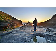 Cornwall: 'Her Indoors' in the Great Outdoors Photographic Print