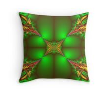 The Greener Side Throw Pillow
