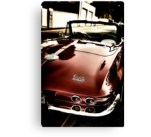 Oldtimer Stingray HDR Canvas Print