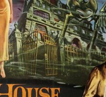 House on Haunted Hill Sticker
