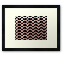 Soapy Screen Framed Print