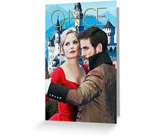 Captain Swan Fairy Tale Comic Poster 3 Greeting Card