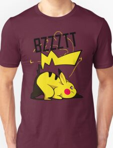 Bzztt Pikachu Electric, Pokemon Anime and Game T-Shirt