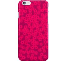 radiating cherry blossoms iPhone Case/Skin