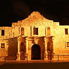 Night Time at The Alamo by SJBroadmeadow
