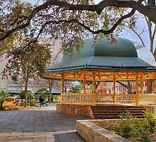 San Antonio Bandstand in HDR by SJBroadmeadow
