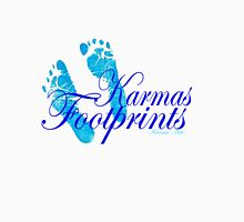 KARMAS FOOTPRINTS (BLUE) Unisex T-Shirt