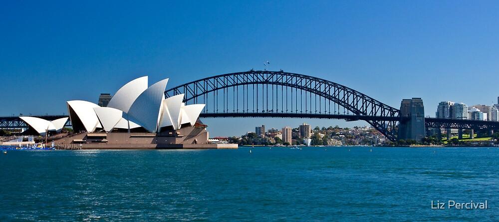 Postcard Sydney by Liz Percival