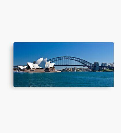 Postcard Sydney Canvas Print