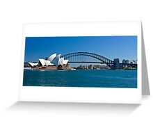 Postcard Sydney Greeting Card