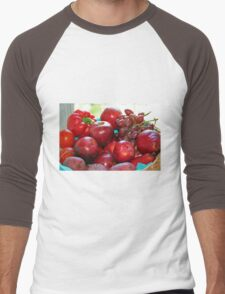 Fifty Shades of Red - Tote Men's Baseball ¾ T-Shirt