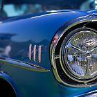Light Up - One Blue 57 Chev by Norman Repacholi