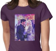 Captain Swan Camelot Comic Poster 1 Womens Fitted T-Shirt
