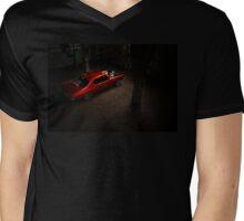 MRBADQ Mens V-Neck T-Shirt
