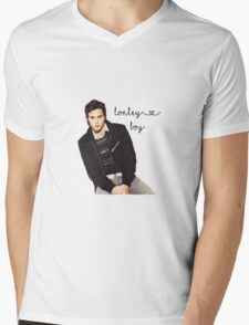 Lonely Boy Mens V-Neck T-Shirt