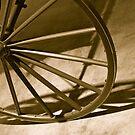 Wagon Wheel by Joy Fitzhorn
