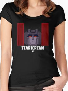 "Transformers - ""Starscream (Seeker)"" Women's Fitted Scoop T-Shirt"
