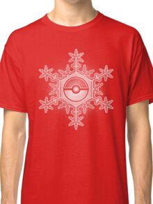 Pokeball Snowflake Classic T-Shirt